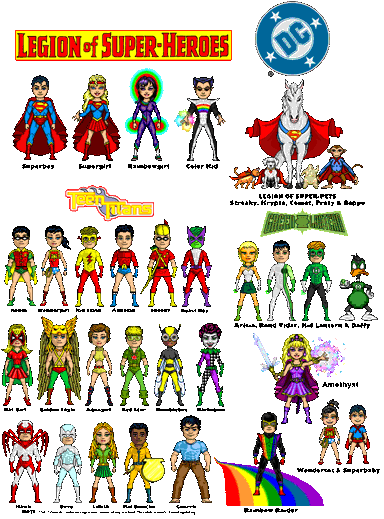 DC Microheroes