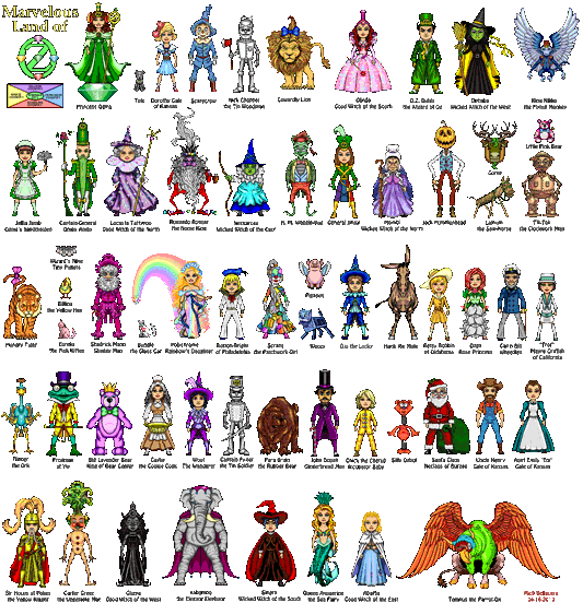 Oz Characters