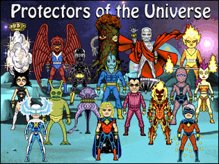 Protectors of the Universe